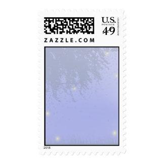 Noche de la luciérnaga sellos postales