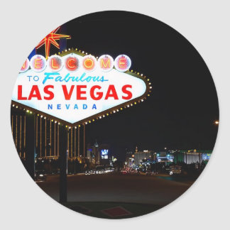 Noche de la muestra de Vegas Etiqueta Redonda