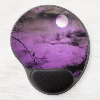 Noche de la púrpura alfombrilla para ratón de gel