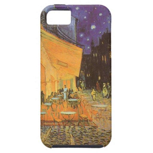 Noche de la terraza del café, impresionismo del vi iPhone 5 Case-Mate funda