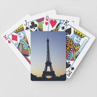 Noche de la torre Eiffel Baraja Cartas De Poker