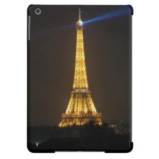 Noche de la torre Eiffel Funda iPad Air