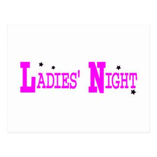 Noche de las señoras postales