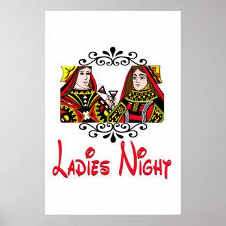 Noche de las señoras póster