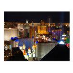 Noche de Las Vegas Postales