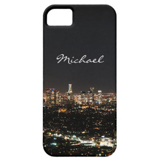 Noche de Los Ángeles iPhone 5 Carcasas