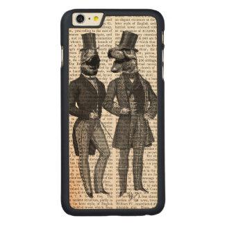 Noche de los chavales de los hombres del funda de arce carved® para iPhone 6 plus