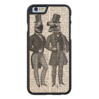 Noche de los chavales de los hombres del funda de iPhone 6 carved® slim de arce