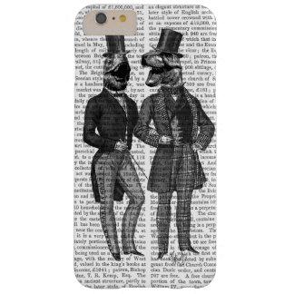 Noche de los chavales de los hombres del funda de iPhone 6 plus barely there