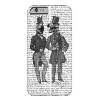 Noche de los chavales de los hombres del funda para iPhone 6 barely there