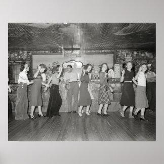 Noche de los chicas hacia fuera, 1938. Foto del Póster
