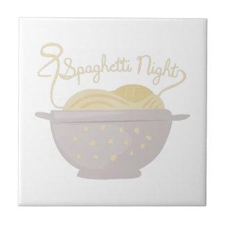 Noche de los espaguetis azulejos cerámicos