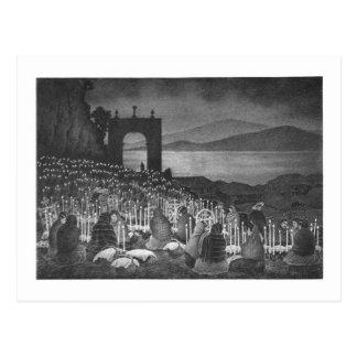 Noche de los muertos. Janitzio, México. c. 1958 Postales