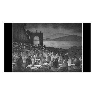 Noche de los muertos. Janitzio, México. Circa 1958 Tarjetas De Visita
