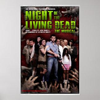 Noche de los muertos vivos: El poster musical