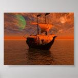 Noche de los piratas poster