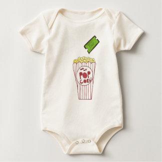 Noche de película body para bebé
