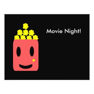 """¡Noche de película! Folleto 8.5"""" X 11"""""""