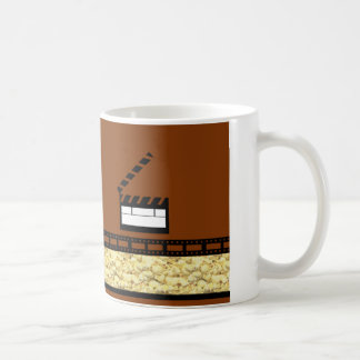 Noche de película taza de café