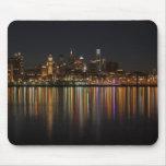 Noche de Philly Tapetes De Raton