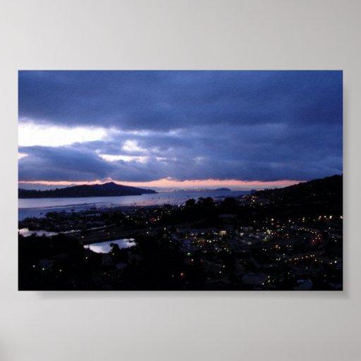 Noche de Sausalito Impresiones