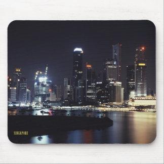 Noche de Singapur Tapetes De Raton