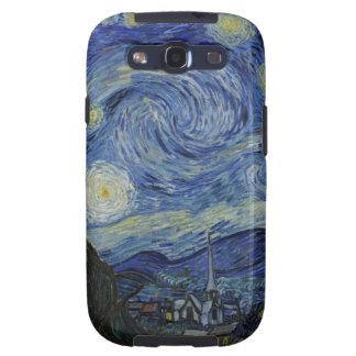 Noche de Stary de Vincent van Gogh Galaxy S3 Funda