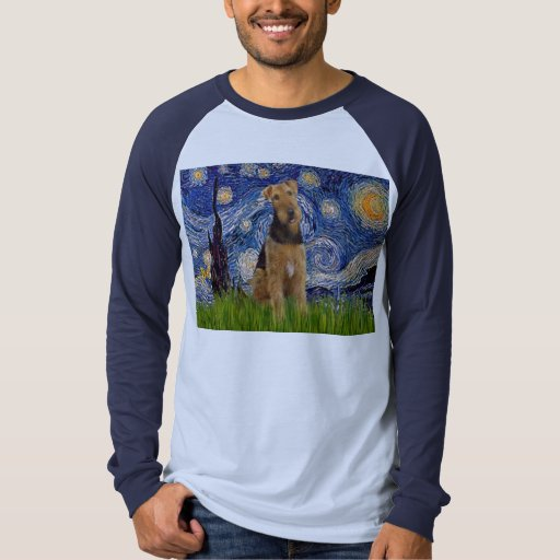 Noche de Stgarry - Airedale Terrier (#1) Remera
