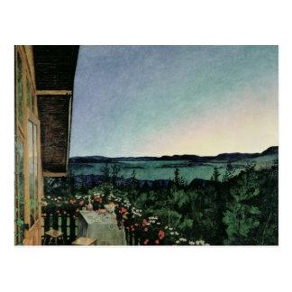 Noche de verano, 1899 postales