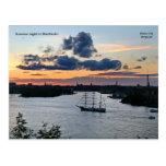 Noche de verano en Estocolmo, Phot… Tarjeta Postal