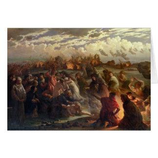 Noche de Walpurghis, 1862 Tarjeta De Felicitación