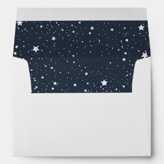 Noche debajo de las estrellas sobres