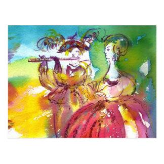 NOCHE del CARNAVAL/mascarada veneciana, música de Postal