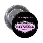 """Noche del chica rosado de Las Vegas logotipo la """"h Pins"""
