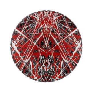 NOCHE del ~ de los ss del PALO (arte abstracto) Frascos De Dulces