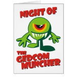 Noche del GEDCOM Muncher Tarjeta
