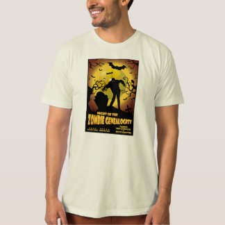 Noche del Genealogist del zombi Camisas