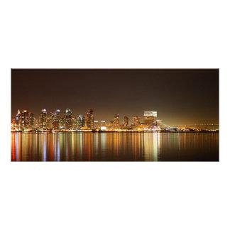 Noche del horizonte de San Diego Lonas Publicitarias