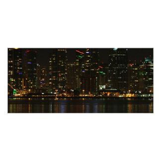 Noche del horizonte de San Diego Plantillas De Lonas