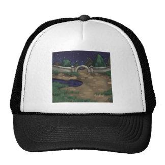 Noche del jardín gorras