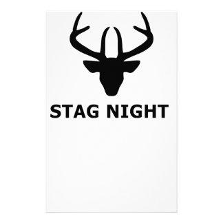 Noche del macho  papeleria de diseño