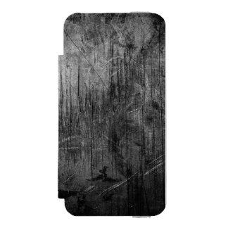 NOCHE DEL METAL DEL GRUNGE FUNDA BILLETERA PARA iPhone 5 WATSON