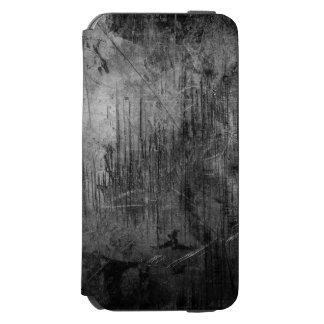 NOCHE DEL METAL DEL GRUNGE FUNDA BILLETERA PARA iPhone 6 WATSON