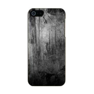 NOCHE DEL METAL DEL GRUNGE FUNDA PARA iPhone 5 INCIPIO FEATHER SHINE