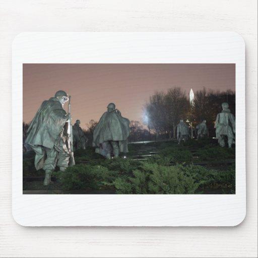 Noche del monumento de Washington del monumento de Alfombrillas De Ratones