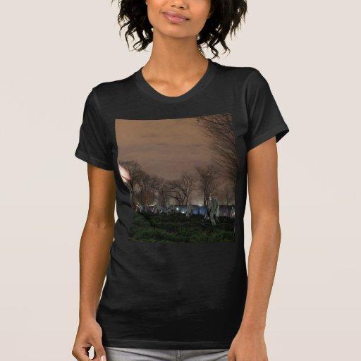 Noche del monumento de Washington del monumento de Camisetas
