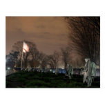 Noche del monumento de Washington del monumento de Postal