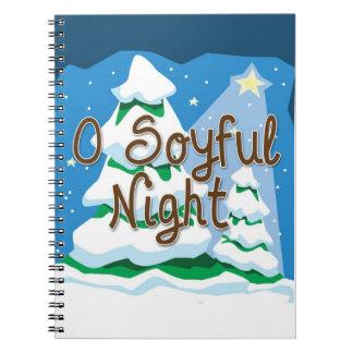 Noche del navidad O Soyful Libreta