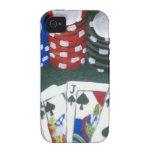 Noche del póker iPhone 4/4S carcasa