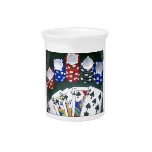 Noche del póker jarrón